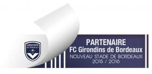 Logo Partenaire 2015-2016 FC Girondins de Bordeaux