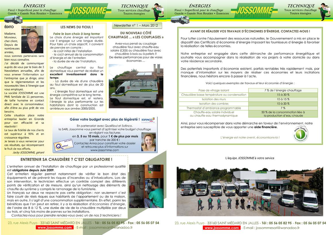 Newsletter n°1