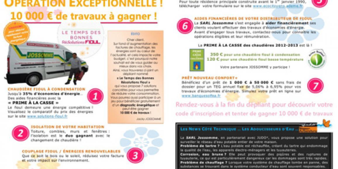 Newsletter 2 – Juillet 2012